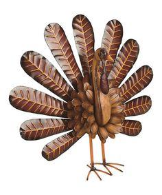 Loving This Metal Standing Turkey On #zulily! #zulilyfinds
