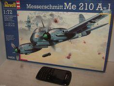 New Revell 04606 Messerschmitt Me 210 A-1 Model Kit in 1:72 Scale.