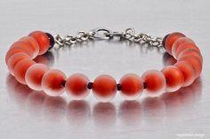Somerso Orange Necklace.