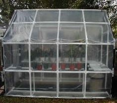 DIY Tutorial on how to make a Greenhouse from PVC pipes then cover with net, plastic or chicken wire . Great for any gardener.