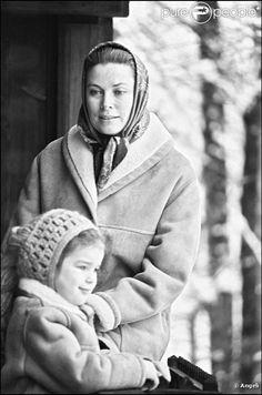 Grace Kelly and Stephanie