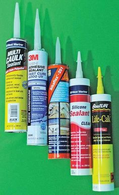 How To Pick the Right Sealant to stop that leak on your boat. #BoatUS