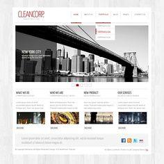 love this wordpress template for a website :)