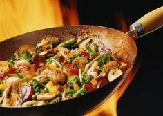Recetas para diabéticos:wokde vegetales y tofu