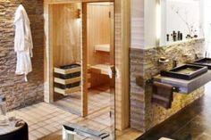 sauna intégré à votre espace salle-de-bain