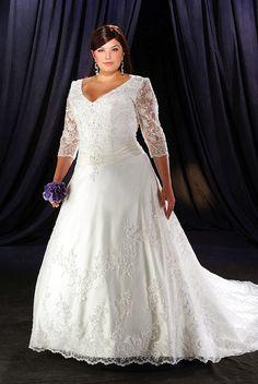 plus size wdding dresses | vintage Plus Size Wedding Dresses Washington