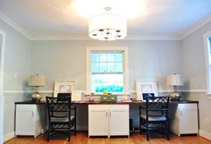 I might need a work area like this for my craft room.