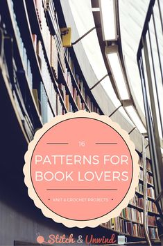 patterns for book lovers