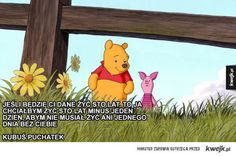 Mądre cytaty z bajek Disneya, które mogą wzbogacić twoje życie - KWEJK.pl - najlepszy zbiór obrazków z Internetu! Words Quotes, Wise Words, Dory, Winnie The Pooh, Disney Characters, Fictional Characters, My Love, Pictures, Life