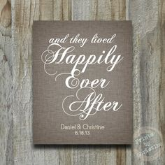 Items similar to Personalized Wedding Gift Art Print And They Lived Happily Ever After Anniversary Paper Customized Names Dates Textured Linen on Etsy Our Wedding, Dream Wedding, Wedding Stuff, Wedding Ideas, Important Dates Sign, 1st Anniversary, Personalized Wedding Gifts, Event Planning, Coloring Pages