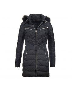 Barbour International Women's Mondello Quilted Parka Jacket - Black LQU0853BK11