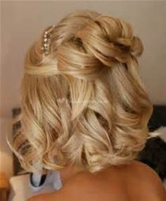 hairstyles for wedding guests medium hair - Bing images