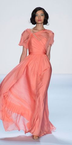 Badgley Mischka - Runway Looks We Love: Badgley Mischka - Fashion Week Spring 2014 - Fashion - InStyle