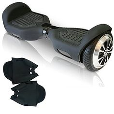 Silicone Case for Swagtron T1 Hoverboard Electric Self Balancing Scooter Scratch Protector black -- Be sure to check out this awesome product.