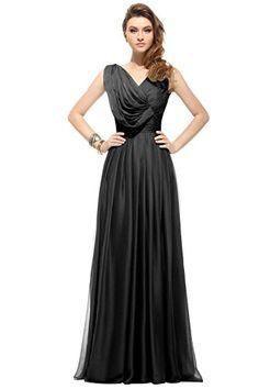f370a95fb61a3 Dora Bridal Women´s V-Neck Evening Party Prom Bridesmaid Maxi Dresses Size 2