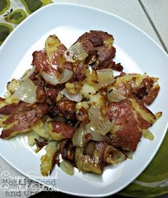 Mostly Food and Crafts: Crispy Smashed Roasted Potatoes