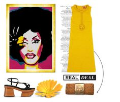 """""""Real Deal"""" by conch-lady ❤ liked on Polyvore featuring Anja, Tory Burch and STELLA McCARTNEY"""