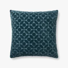 Loloi designs and crafts rugs, pillows and throws for the thoughtfully layered home. Teal Pillows, Modern Throw Pillows, Down Pillows, Accent Pillows, Pillow Set, Pillow Covers, 1st Avenue, Teal Blue, Cotton