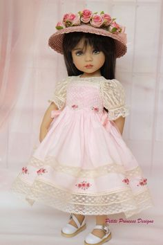 Smocked Ensemble for Effner 13""