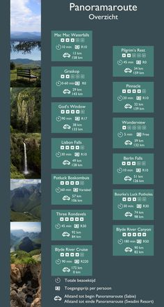 1.000 panorama's op je route: 12 tips voor de Panoramaroute – Wij-de wereld in Visit South Africa, Overseas Travel, Pilgrim, Where To Go, Resorts, Vancouver, Waterfall, Places To Visit, Vacation