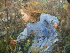 Jules Bastien-Lepage (French painter, The Wood Gather (detail) Classical Art, Bastille, Working Woman, Illustrations, French Art, Woman Painting, Community Art, Art World, Fine Art
