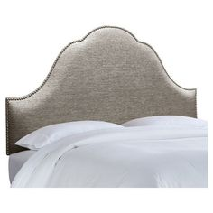 I pinned this Glitz Arch #Headboard in Pewter from the Skyline event at Joss and Main! $299.95 #silver