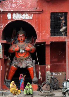 The Monkey God - Delhi