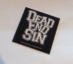 Dead End Sin - Belgium hardcore #deadendsin