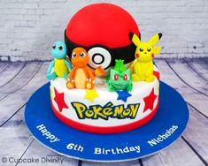 Inspiration Picture of Pokemon Birthday Cakes Pokemon Birthday Cakes Cupcake Divinity Pokemon Cake Pokemon Birthday Cake, Cupcake Birthday Cake, Birthday Cake Girls, Pokemon Torte, Pokemon Cakes, Pokemon Pokemon, Pokemon Fusion, Pikachu Cake, Pokeball Cake