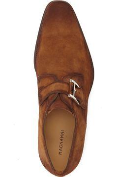 Magnanni 'Enrique' Monk Strap Shoe