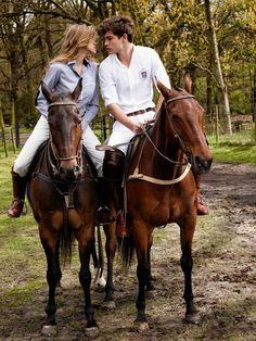Ralph Lauren horse riding style