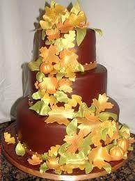 fall wedding cakes - Google Search