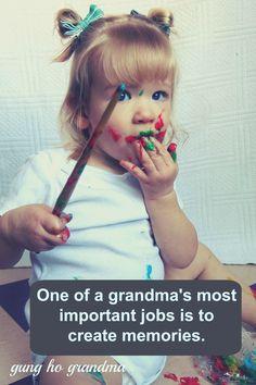 Gung Ho Grandma ... Go to gunghograndma.com for great ideas for grandmas!