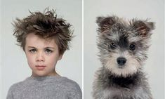 Uncanny Resemblances Between Classic Dog Breeds and Humans Captured by Gerrard Gethings Christian Vieler, Side By Side Photo, Pet Dogs, Pets, Photo Portrait, Capture Photo, Border Terrier, Awesome, Funny Dog Pictures