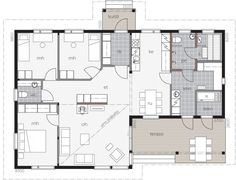 Future House, House Plans, Floor Plans, Home And Garden, Flooring, How To Plan, Case, Interior, House Ideas