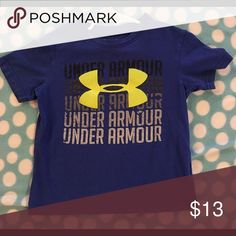 Under Armour shirt Like new Under Armour shirt. Comes from a clean pet/smoke free home. Under Armour Shirts & Tops Tees - Short Sleeve