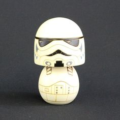 Usaburo Kokeshi Doll Star Wars Storm Trooper Made in Japan Figure Statue #Usaburo