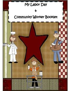 Labor Day Activity Book - This activity booklet is a Great way to review and discuss why our country honors Labor Day! It includes various pages for reflecting, drawing, and writing all about Community Workers and the purpose for having this great Federal Holiday! #teachersherpa