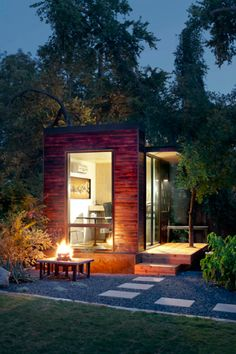 tiny house tiny house - backyard office or tiny house? i like it