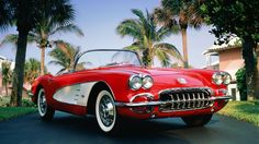 1960 Chevrolet Corvette Car Wallpapers Muscle Backgrounds
