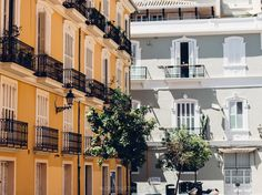 Old town Valencia, Spain - One of our favourite things to do in Valencia.