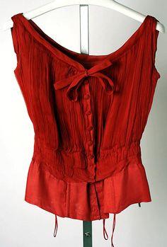 1954 Dior ~ like a pretty red heart.