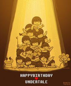 Happy Birthday Unfertale by Komatu Tororu