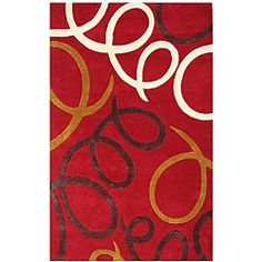 @Overstock - This Laurel rug is hand-tufted of wool by highly skilled weavers in north central India using the quality construction techniques of yesteryear.http://www.overstock.com/Home-Garden/Hand-tufted-Red-Laurel-Wool-Rug-8-x-11/5777487/product.html?CID=214117 $314.78