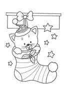 Christmas gingerbread house coloring page from Christmas Gingerbread category. Select from 24652 printable crafts of cartoons, nature, animals, Bible and many more.