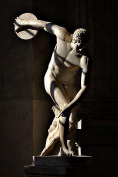 Roma Discobolus (The discus thrower) ~ Vatican museum