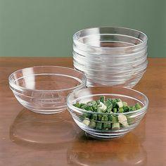 Mise en place bowls are my favourites.