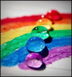 pretty and bright colors