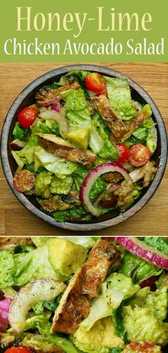 Honey-Lime Chicken And Avocado Salad | Honey-Lime Chicken And Avocado Salad Is The Perfect Salad For Your Body