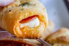 Pepperoni Cream Cheese Crescent Rolls - The Food Charlatan
